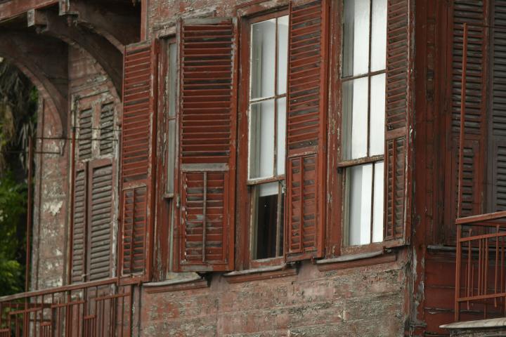 pencereden bakinca