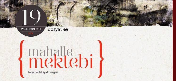 MAHALLE MEKTEBİ'NİN 19. SAYISI ÇIKTI